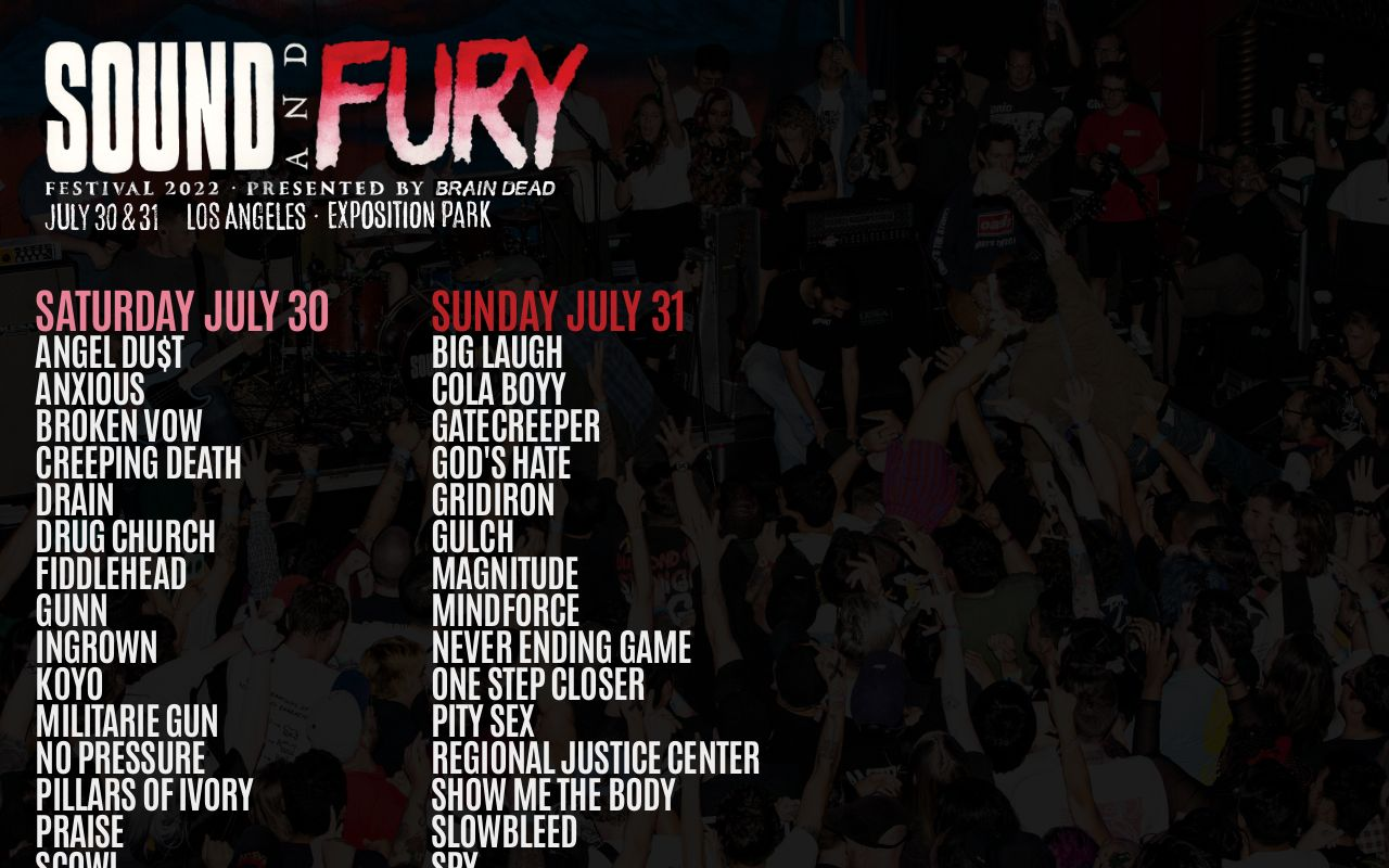 Sound and Fury 2019  July 12 & 13 in DTLA